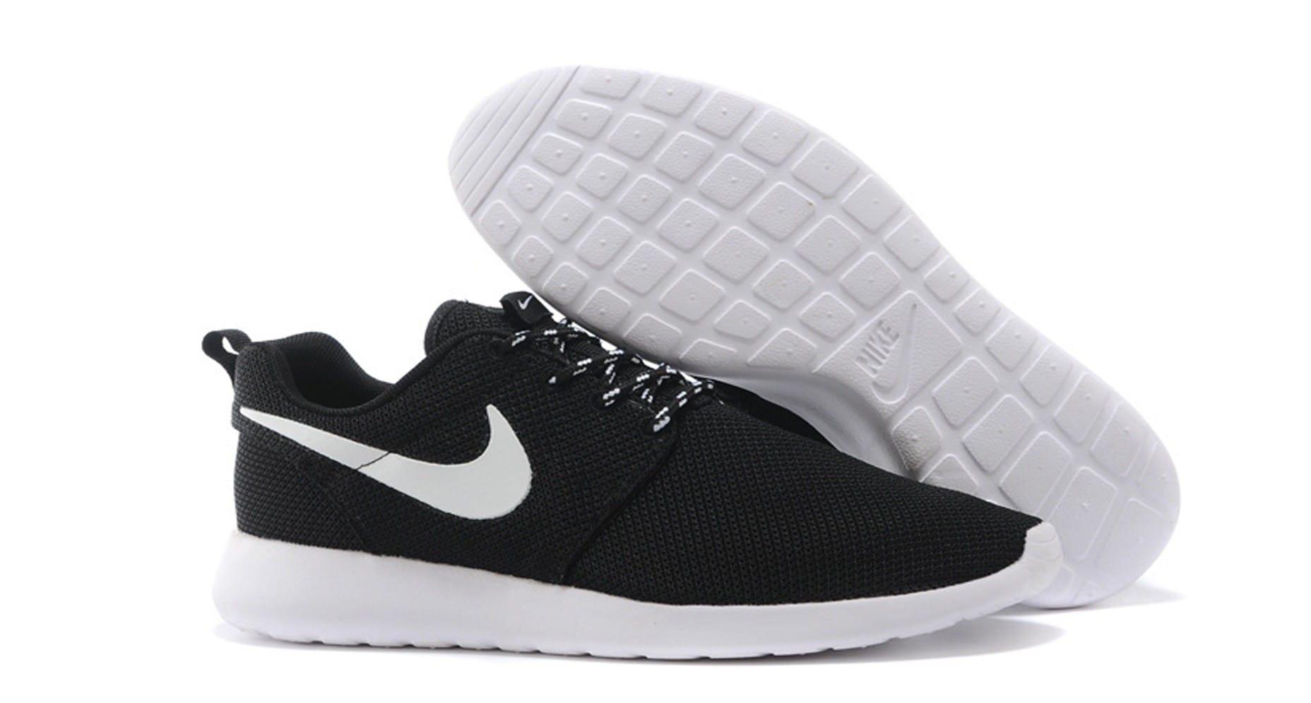 Nike Roshe Run Hombre Rojas