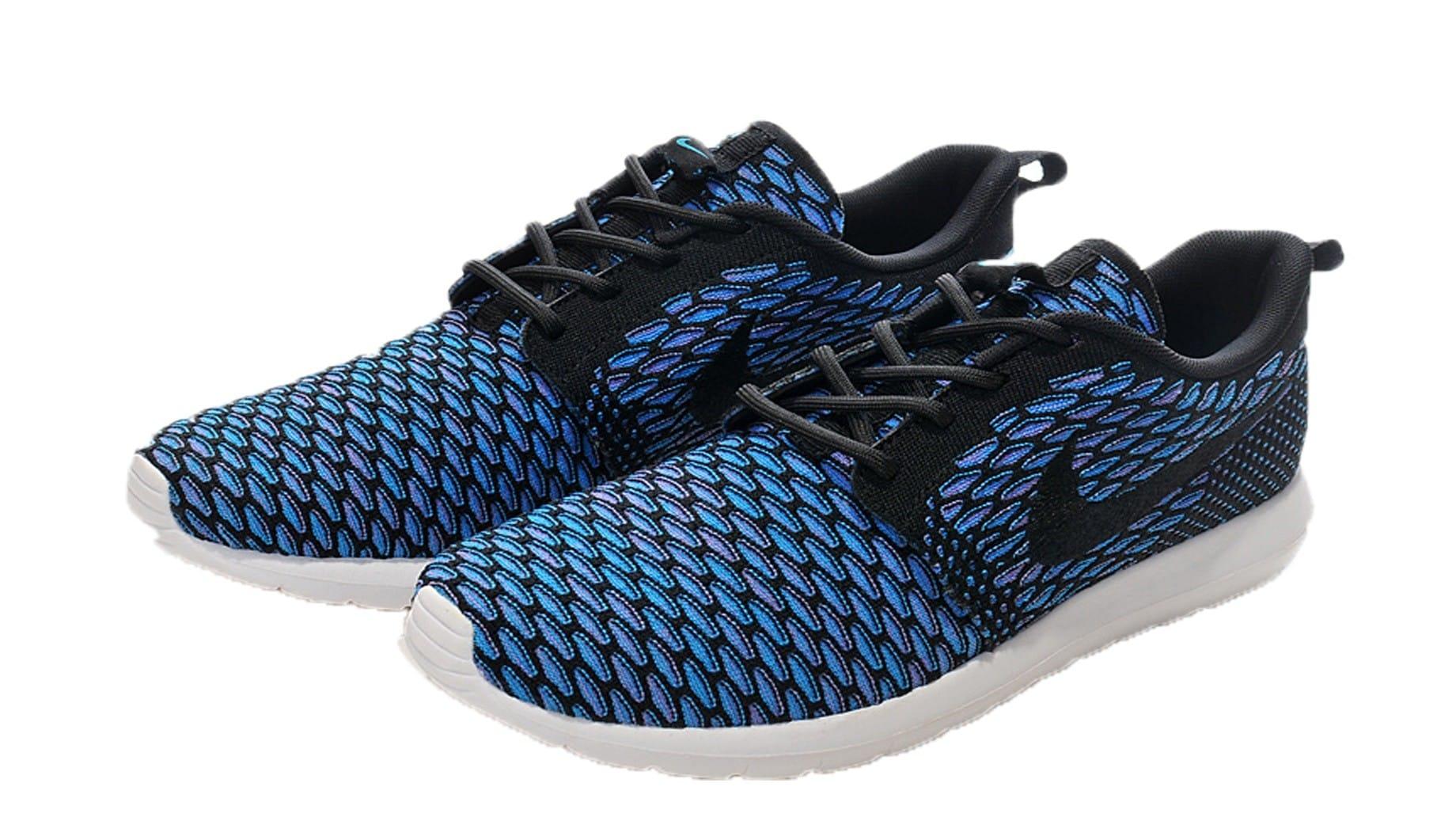 Nike Roshe Flyknit Azules
