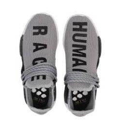 ADIDAS HUMAN RACE GRISES