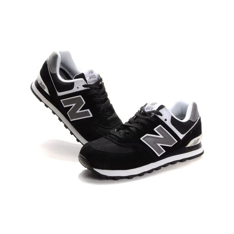 new balance mujer 574 negras gris