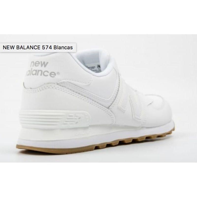 574 blancas new balance