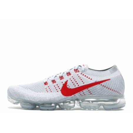 Nike Air Vapormax Flyknit Blancas Rojas