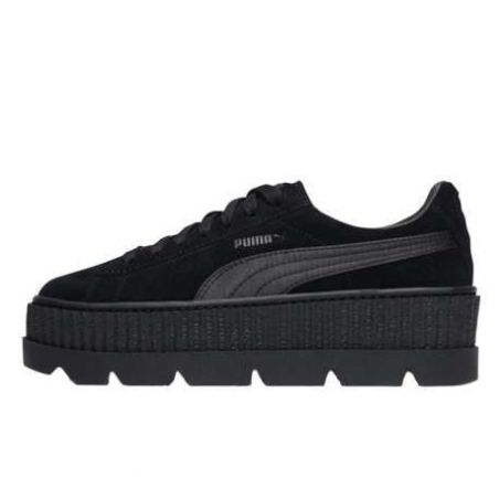 Puma Fenty Suede Cleated Creeper Negras