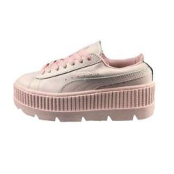Puma Fenty Suede Cleated Creeper Rosas