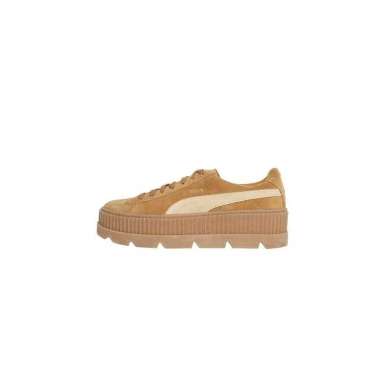 Puma Fenty Suede Cleated Creeper Marrones
