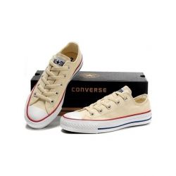 CONVERSE ALL STAR BAJAS BEIGE