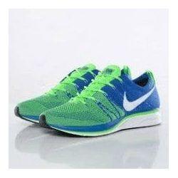 Nike Flyknit Trainer Azul Verde