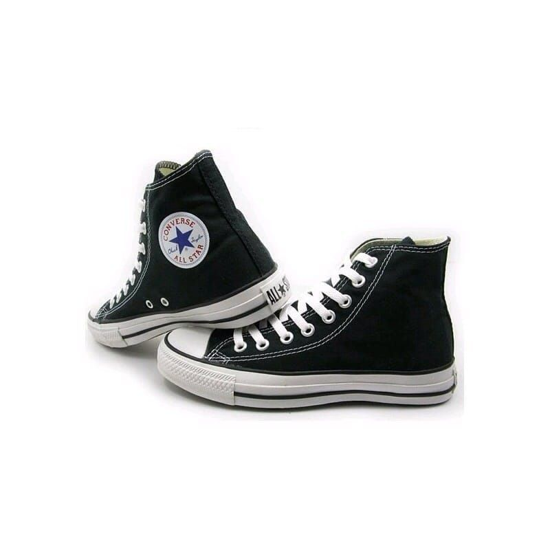 Hilo sobre zapatillas CONVERSE All-star-altas-negras