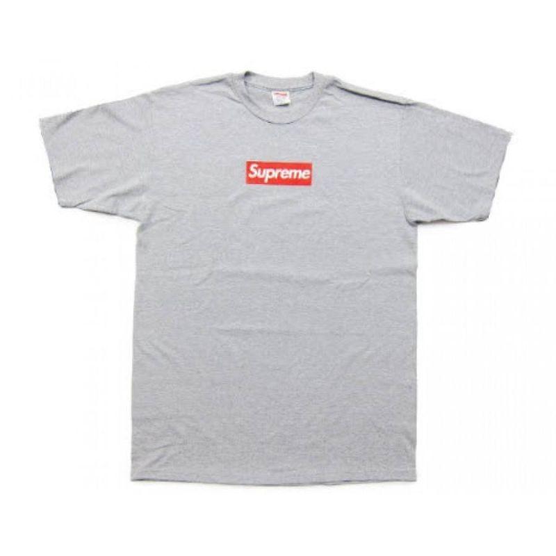 Camiseta Supreme Gris