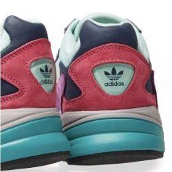 Adidas Falcon Lila Azul Rojo