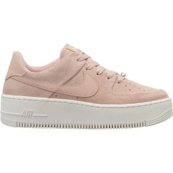 Nike Air Force Low Rosas Plataforma Blanca