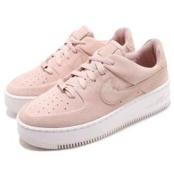 Nike Air Force Low Rosas Suela Blanca