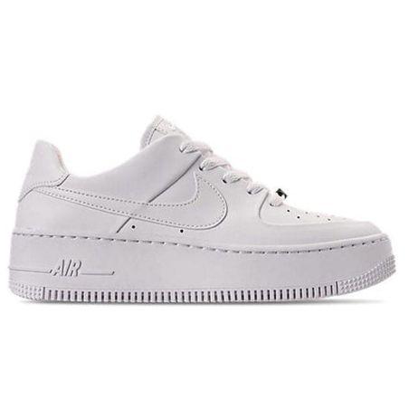 Prueba de Derbeville uno responsabilidad  Nike Air Force One Blancas Plataforma por 48.99€ |Envío Gratis