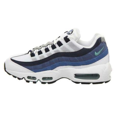 Nike Air Max 95 Blancas Azules