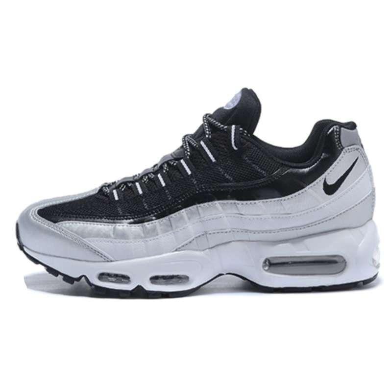Nike Air Max 95 Plateadas Negras