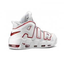 Nike Air More Uptempo Blancas Rojas