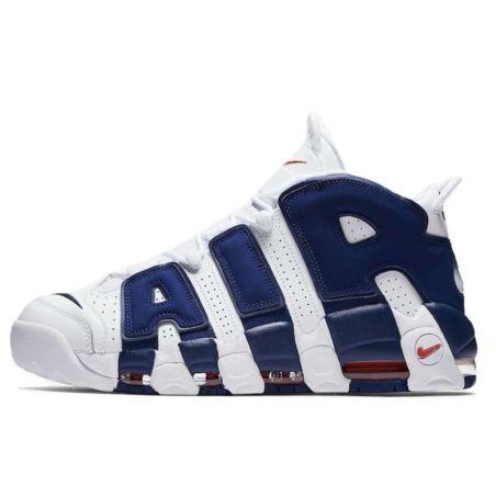 Nike Air More Uptempo Blancas Azules