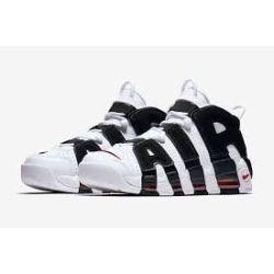 Nike Air More Uptempo Negras Blancas