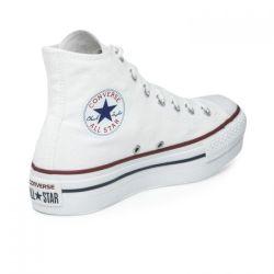 Converse All Star Altas Plataforma Blancas