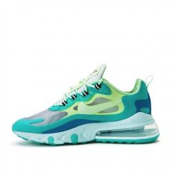 Nike Air Max 270 React Blancas Verdes