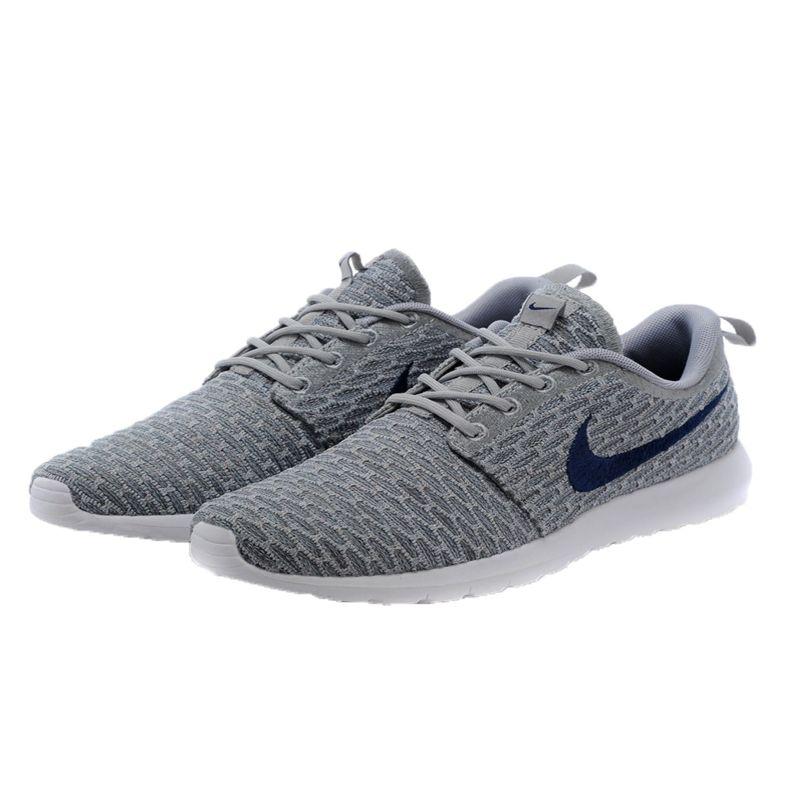 """Nike Roshe Run """"FLYKNIT"""" GRISES"""