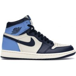 Nike Air Jordan 1 One Mid Azules