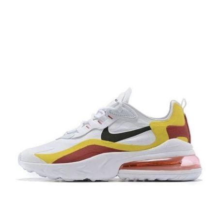 Nike Air Max 270 React Blancas Amarillas