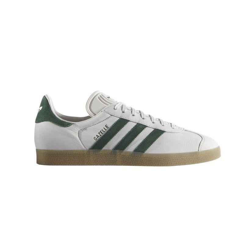 adidas blancas verdes
