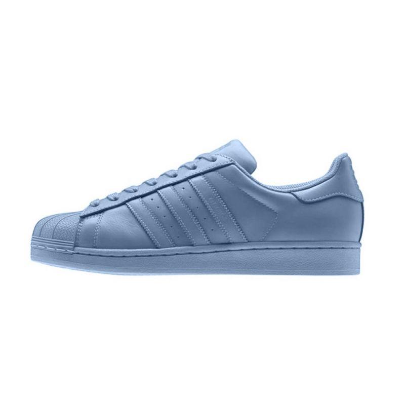 "Adidas ""SUPERSTAR 2015"" AZUL CLARO 2"