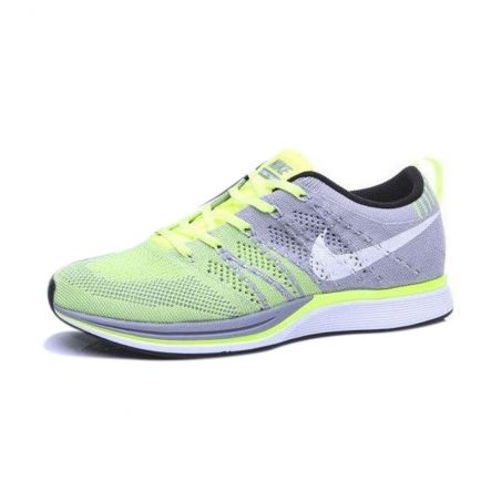 Nike Flyknit Trainer Gris Verde