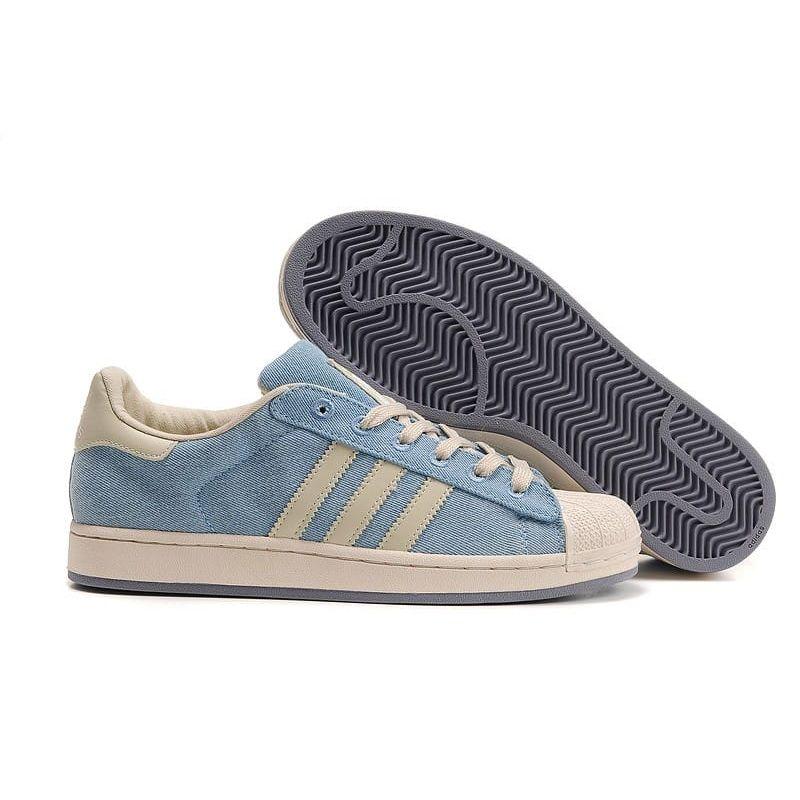 612369bdff Adidas SUPERSTAR AZUL CIELO por 44