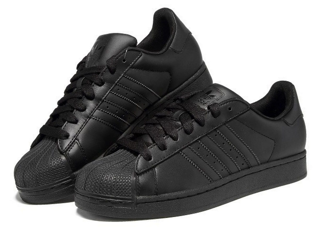adidas superstar negras enteras