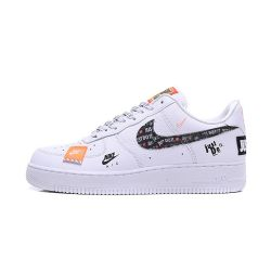 "Nike Air Force One ""Just Do It"" Blancas Low"