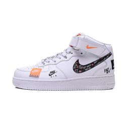 """Nike Air Force One """"Just Do It"""" Blancas MID"""