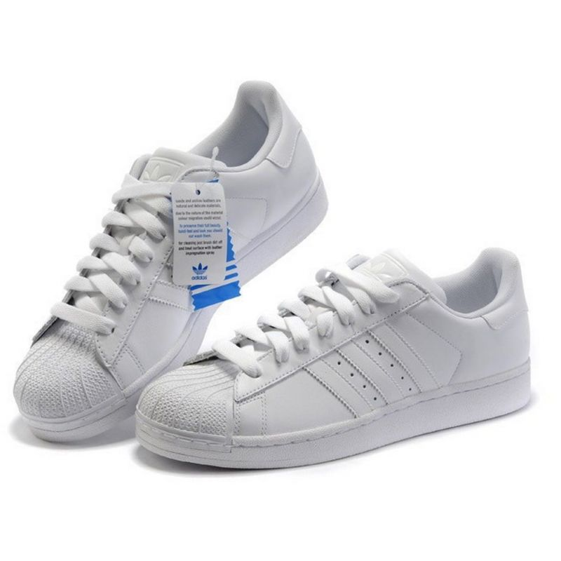 adidas blancas superstar