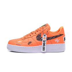 "Nike Air Force 1 ""Just Do It"" Naranjas Low"
