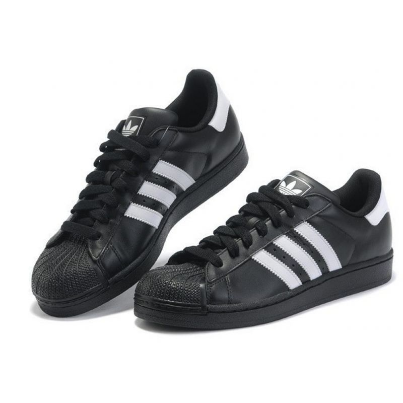 adidas superstar negraa
