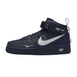 Nike Air Force One 07 LV8 Utility Negras Mid