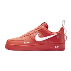 Nike Air Force One 07 LV8 Utility Rojas Low
