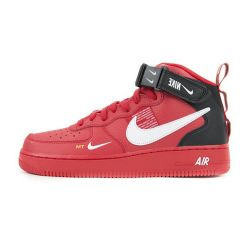 Nike Air Force One 07 LV8 Utility Rojas Mid