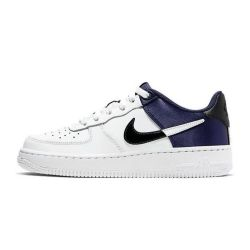 Nike Air Force One LV8 Blancas Moradas Low