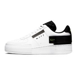 Nike Air Force One Type AF1 Blancas Negras