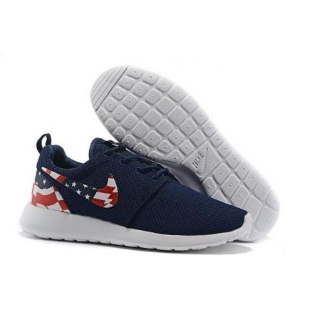 NIKE ROSHE RUN USA FLAG AZULES