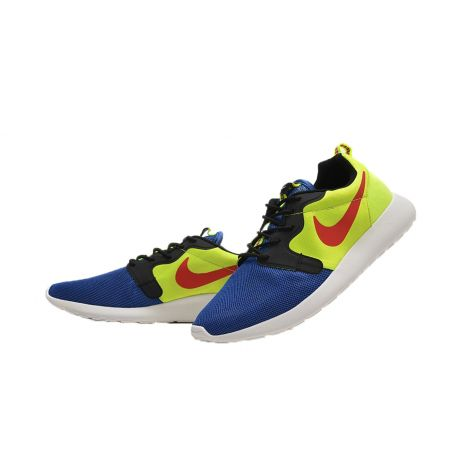 "NIKE Roshe Run ""HYPERFUSE"" AZULES/AMARILLAS"