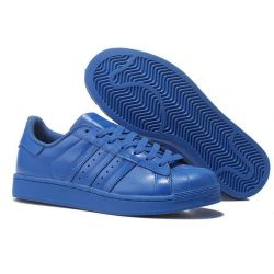 ADIDAS SUPERSTAR PHARRELL AZULES