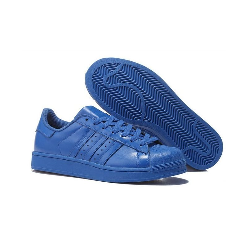 adidas superstars azul