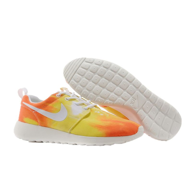 "Nike Roshe Run ""2014"" AMARILLO/NARANJA"