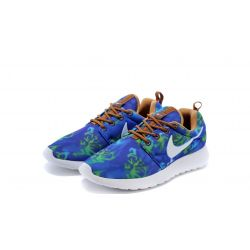 NIKE ROSHE RUN 2015 AZUL ESTAMPADO