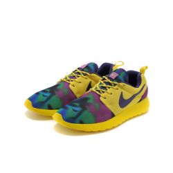 NIKE ROSHE RUN 2015 AMARILLA ESTAMPADA