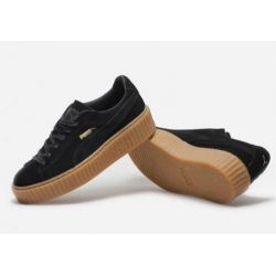 PUMA CREEPER BY RIHANNA NEGRAS SUELA MARRON